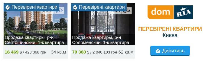 квартири Києв